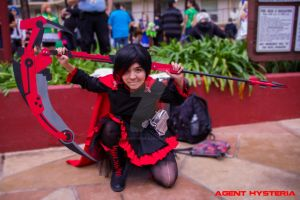 Ruby Rose Cosplay at ALA by AgentHysteria