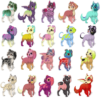 Send a Llama, Receive a Pup Adopt - [CLOSED!] by FlshyGoesRAWR