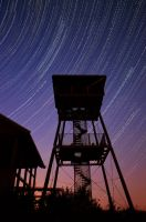 Star trails by Alouette-Photos