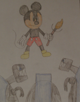 Epic Mickey: The Dinobots by MollyKetty