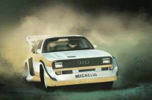 Audi Quattro by frankhong