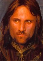 aragorn close up card by charles-hall