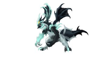 Black Kyurem by KFCemployee
