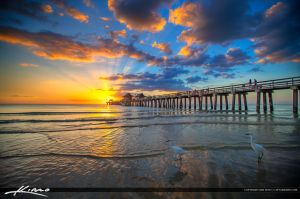Sunset-at-Naples-Pier-Collier-County-Florida by CaptainKimo