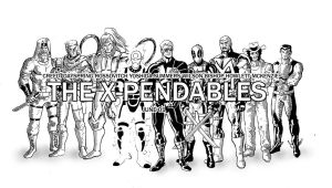 The X-pendables by Ericdimension