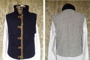 Steampunk inspired waistcoat PCW13-24 by JanuaryGuest