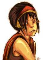Fire Nation Toph by oheysteenz