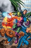 Fantastic Four Vs Annihilus by GURU-eFX