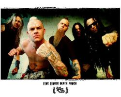 Five Finger Death Punch by sarahdope