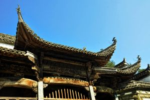 Ancestral House of Huang Village -11 by DawnRoseCreation