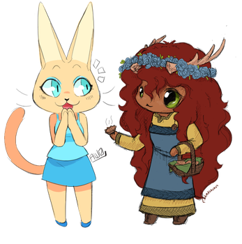 mini pies [Aw0 collab] by mamasaurus