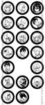 Snk Buttons by NotJailBait