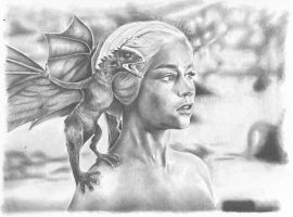 Game Of Thrones : Daenerys Targaryen by shonechacko