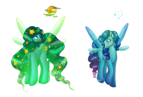 Fairy Sisters Pony adoptable :OPEN 1/2: by MaGeXP