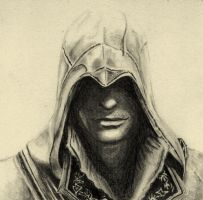 Ezio - Bird of Prey by Gray-Wolf13