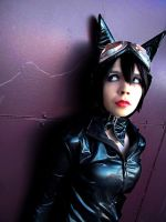 Catwoman: Crooked Feline by kay-sama