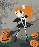 little miss pumpkin by sinagtala