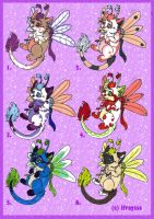 Chapillon adoptables pack 01 by lfraysse