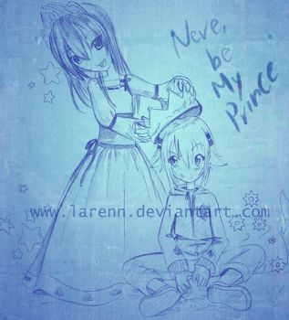 .::Neve be my prince::.. by larenn