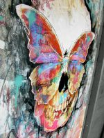 Butterfly Skull by ART-BY-DOC