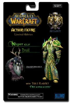 World of Warcraft ActionFigure by SonXSunLight