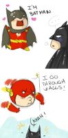 Batman and Flash: Adventures by misi-chan
