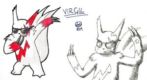 Virgil the Zangoose by MineralRabbit