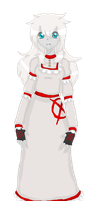 DIGITAL DOLL: Ally in her Nightgown by InvaderIka
