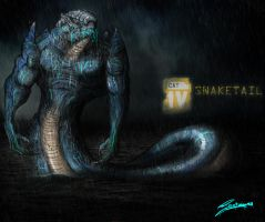 Pacific Rim: Kaiju. Codename - SNAKETAIL by Santoski