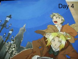 FMA Mural: Day 4 by AbbyChan