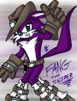 Fang the Sniper by LillithMalice