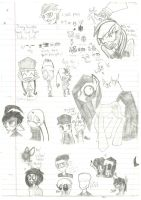 Giant Sketch Dump by JuicyJuiceHypotenuse