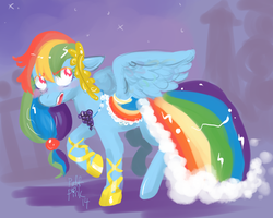 Princess Rainbow Butt by PuffPink