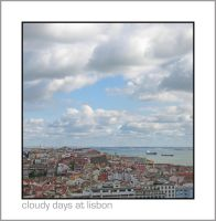 Cloudy Days at Lisbon by thephotoshot