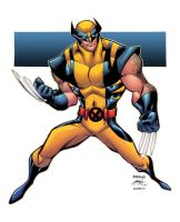 WOLVERINE - colors by Alonso Espinosa by lebeau37