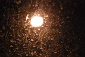 Moonlight and a Dirty Window by Kiberz