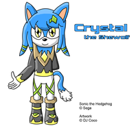 Crystal the Shewolf by dimentiochaser