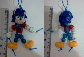 Angel the Dog as a bead-doll by SonicDollz