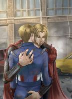 [Thor/Steve] Are you OK? by ayami-wt