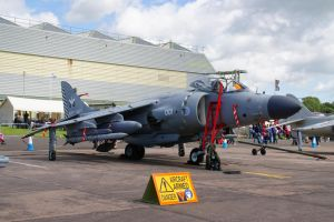 Sea Harrier FA2 by hanimal60