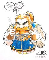Gen Con- Dwarf Knitting by Zubby