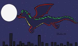 Jakes Night Flight by Slasher12