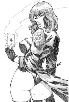 Gambit Girl by LCFreitas