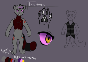 Taciturn Reference (Update) by SombreDemeanor