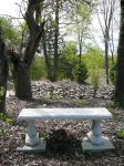 Park Bench Stock Background by Enchantedgal-Stock