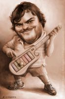Jack Black by KaceySchwartz