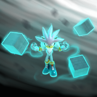 Silver the Hedgehog - Request by Retro-Red