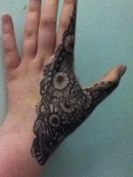 Henna pattern arm 3 by spirit0407