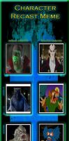 Monster Squad Cartoon Recast Part 2 by SithVampireMaster27