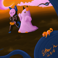 Naki's Halloween Contest Entry by YooMe